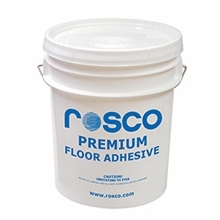 Rosco Latex Floor Adhesive #755, 4 Gallon Pail