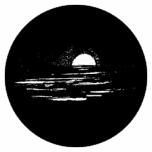 Rosco Midnight Sun 77853 Standard Steel Gobo