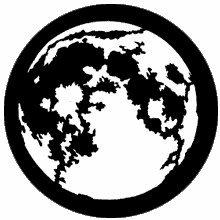 Rosco Moon Steel Gobo 77220