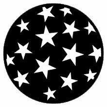 Rosco Stars 9  79219 Standard Steel Gobo