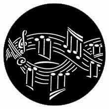 Rosco Symphony Music Steel Gobo Pattern 79187