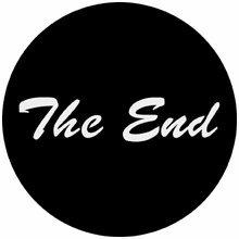 Rosco The End Steel Gobo 78120
