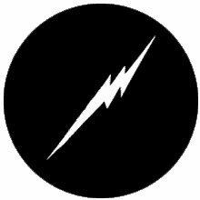 Rosco Zap Lightning Bolt  Steel Gobo Pattern 77814