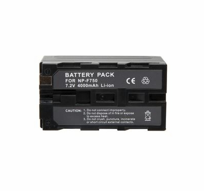 DV Camera Battery Kit w/ 2x Sony 5800mah Replacement Lithium Batteries and Charger