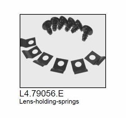 Arri 300 / 650 Plus Fresnel Lens Holding Spring Clips (6)