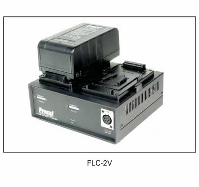 Frezzi Dual Simultaneous Lithium Charger & Power Supply V-Lock Mount