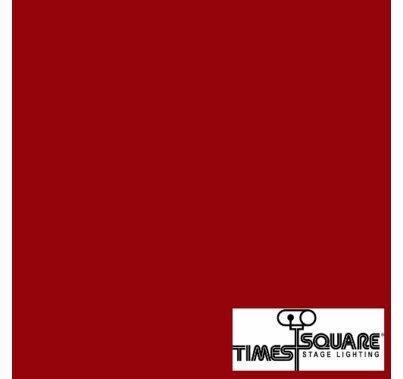 027 Medium Red Lighting Gel Sheet 10x10 in.