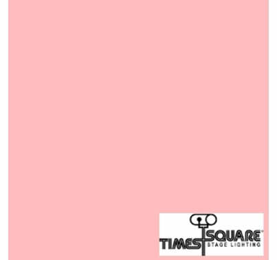 035 Light Pink Lighting Gel Sheet 10x10 in.