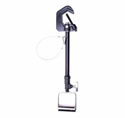 American 1-2ft Lightweight Adjustable Extension Hanger Black
