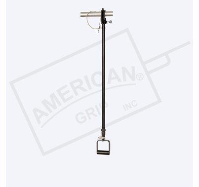 American Grip Alum 3' to 6' Liteweight Adjustable Extension, Black
