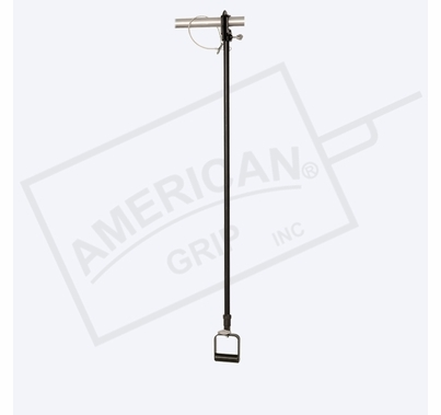 American Grip Alum 4' to 8' Liteweight Adjustable Extension, Black