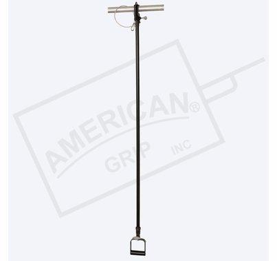 American Grip Alum 5' to 10' Liteweight Adjustable Extension, Black