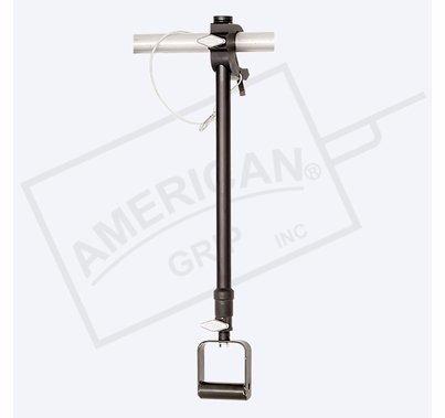 American Grip Alum Medium Duty 2' to 4' Adjustable Extension, Black