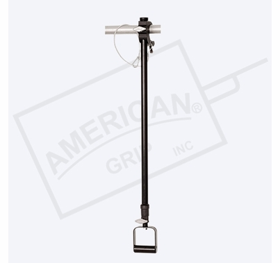 American Grip Alum Medium Duty 3' to 6' Adjustable Extension, Black