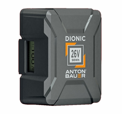 Anton Bauer Dionic 26V 98wh Gold Mount Plus Battery