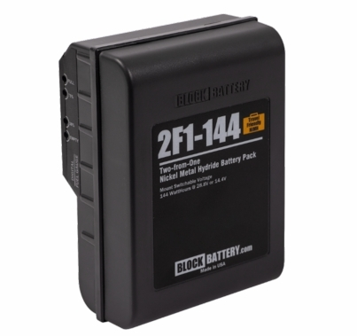 Block 2F1-144 Dual Voltage NiMH Battery 144wh 14.4 / 28.8V