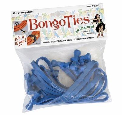 Blue Bongo Ties Package of 10 Cable Ties