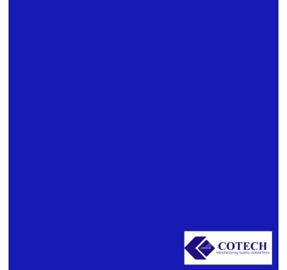 "Cotech 075 Evening Blue Lighting Gel Filter Sheet 20""x24"""