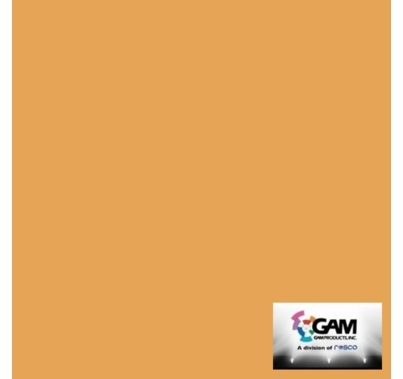 "GAM CineFilter 1549 1/2 CTO Orange Lighting Gel Filter Sheet 20""x24"""
