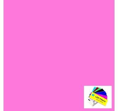 Lee 002 Rose Pink Lighting Gel