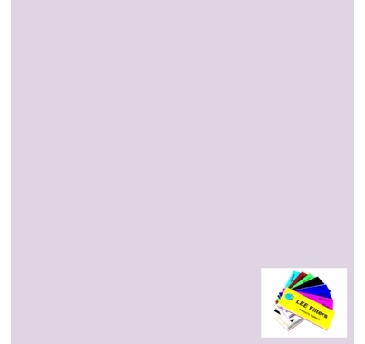 "Lee 003 Lavender Tint Lighting Gel Sheet 21""x24"""