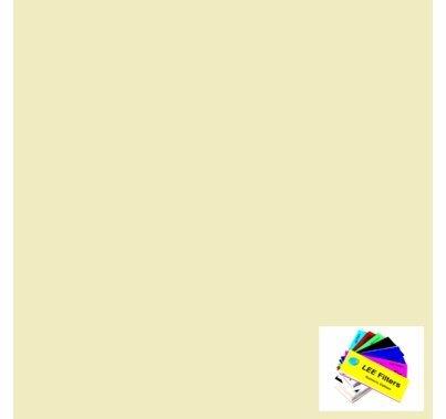 "Lee 007 Pale Yellow Lighting Gel Sheet 21""x24"""