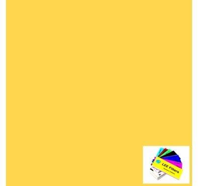 "Lee 104 Deep Amber Lighting Gel Filter Sheet 21""x24"""