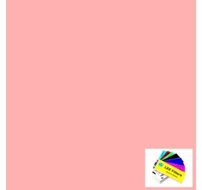 "Lee 109 Light Salmon Lighting Gel Filter Sheet 21""x24"""