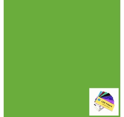 "Lee 121 Leaf Green Lighting Gel Sheet 21"" x 24"""