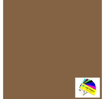 """Lee 156 Chocolate Lighting Gel 21""""x24"""""""