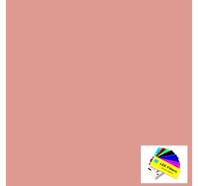 """Lee 187 Cosmetic Rouge Diffusion Gel Filter Sheet 21"""" x 24"""""""