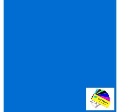 """Lee 195 Zenith Blue Lighting Gel Filter Sheet 21""""x24"""""""