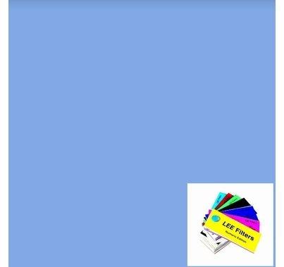 """Lee 197 Alice Blue Lighting Gel 21"""" x 24"""""""