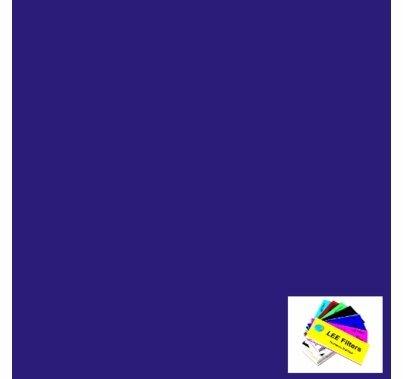 "Lee 198 Palace Blue Lighting Gel 21""x 24"""