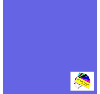 "Lee 199 Regal Blue Lighting Gel Filter Sheet 21"" x 24"""