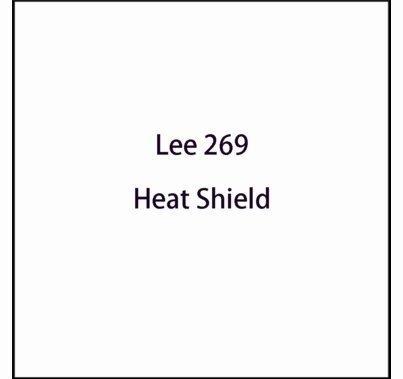 """Lee 269 Heat Shield Lighting Gel Filter Sheet 21""""x24"""""""