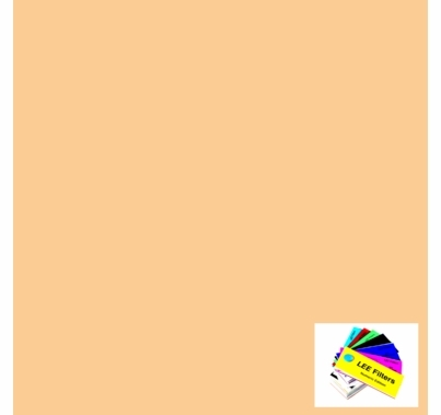 Lee 285 3/4 CTO Lighting Filter Gel Sheet