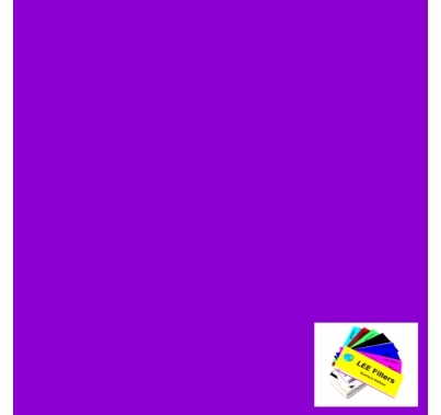 Lee 343 Special Medium Lavender Lighting Gel Filter Sheet