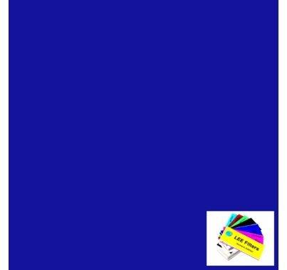 "Lee 363 Special Medium Blue Lighting Gel 21"" x 24"""