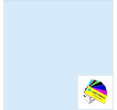 "Lee 501 New Colour Blue (Robertson Blue) Lighting Gel 21"" x 24"""