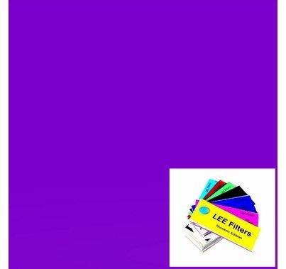 """Lee 700 Perfect Lavender Lighting Gel 21"""" x 24"""""""