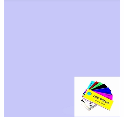 "Lee 709 Electric Lilac Lighting Gel 21"" x 24"""