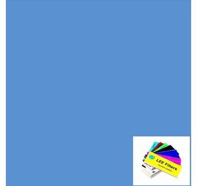"""Lee 714 Elysian Blue Lighting Gel 21"""" x 24"""""""
