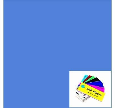 """Lee 723 Virgin Blue Lighting Gel 21"""" x 24"""""""