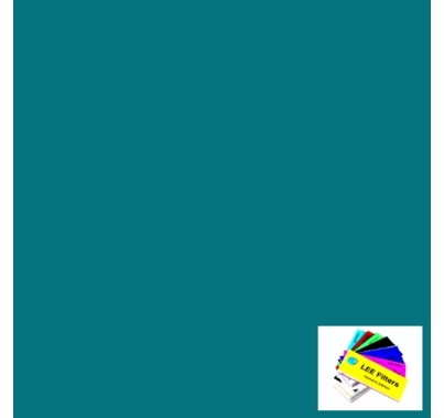 """Lee 729 Scuba Blue Lighting Gel 21""""x24"""""""
