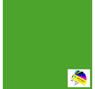 "Lee 738 Jas Green Lighting Gel Sheet 21"" x 24"""