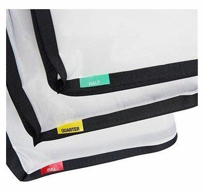 LitePanels Gemini 2x1 SnapBag Cloth Set of Diffusions 1/4 | 1/2 | Full