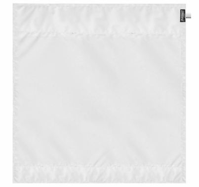 Modern 6ft Wag Flag Bleached Muslin Diffusion Fabric | NO Frame