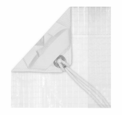 Modern Studio 10x20 Sail 1/4 Grid Cloth With Bag