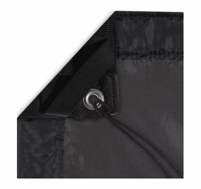 Modern Studio 10x20 Silk (Artificial Black) With Bag